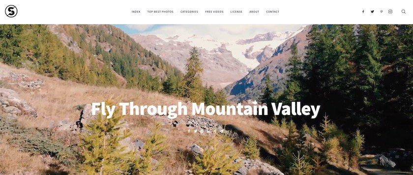 Lizenzfreie Bilder kostenlos - splitshire website