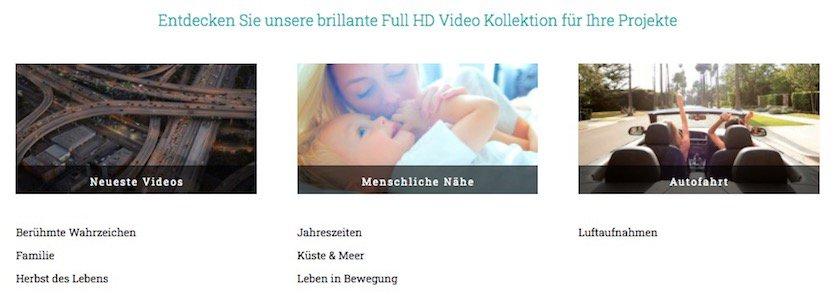 Video Kollektion von adpic
